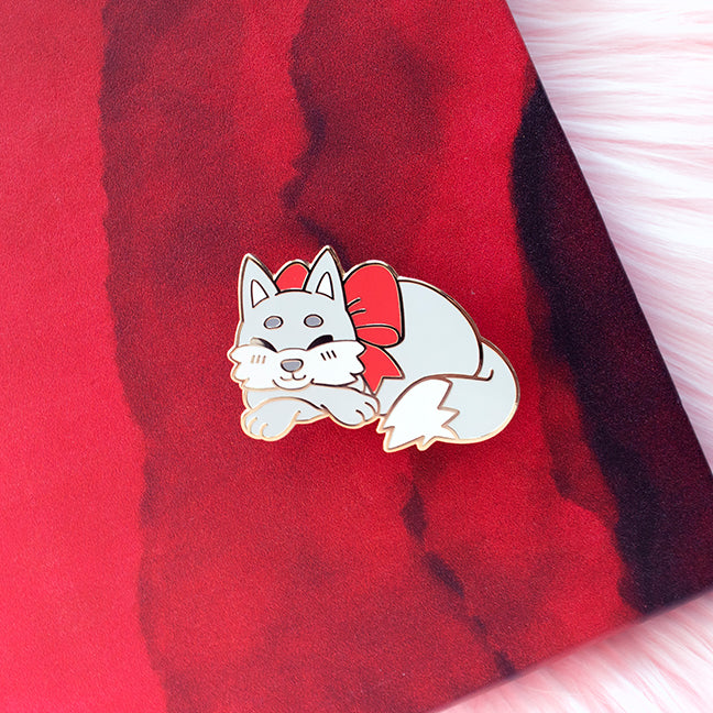 Little Red's Wolf Enamel Pin