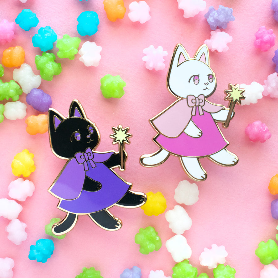 Spice the Cat Enamel Pin