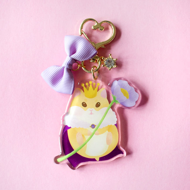 Hamlet the Hamster Tiny Companion Keychain