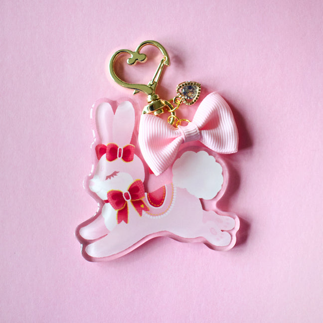 Love Bunny Tiny Companion Keychain