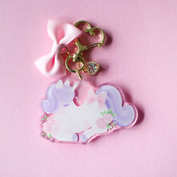 Dreamy Unicorn Tiny Companion Keychain