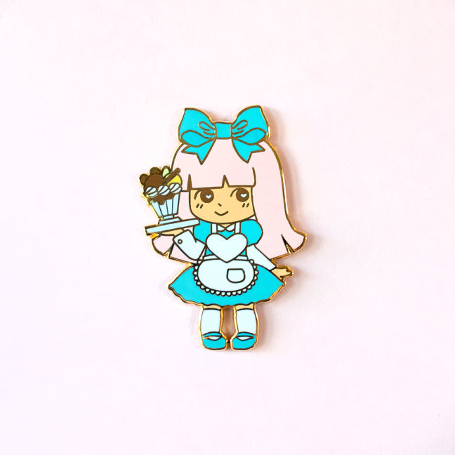 Bakery Waitress Enamel Pin