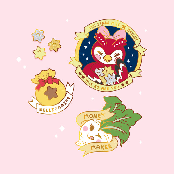 "*PREORDER* AC ""Money Maker"" Turnip Pin"