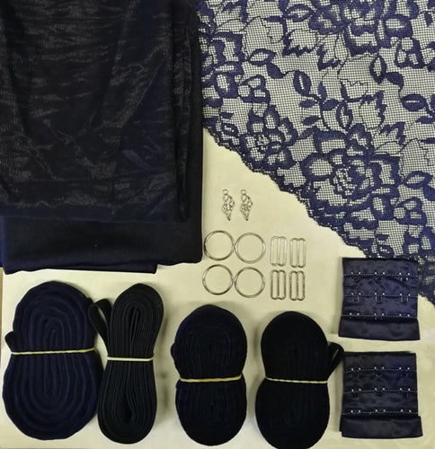 Bra Making kit - Navy