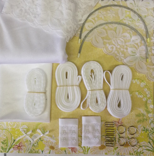 Bra Making kit - White