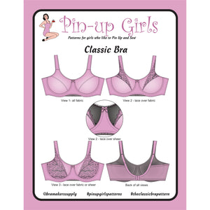 PB-1200 – Classic Full Band Bra Pattern