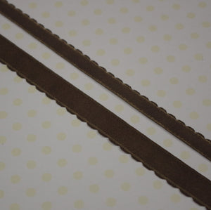Scalloped / Plush Elastic