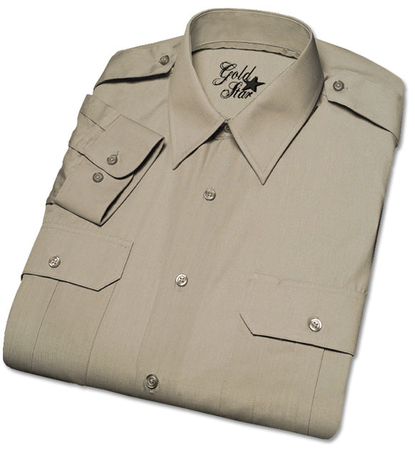 Men's Military Shirt, Long Sleeves