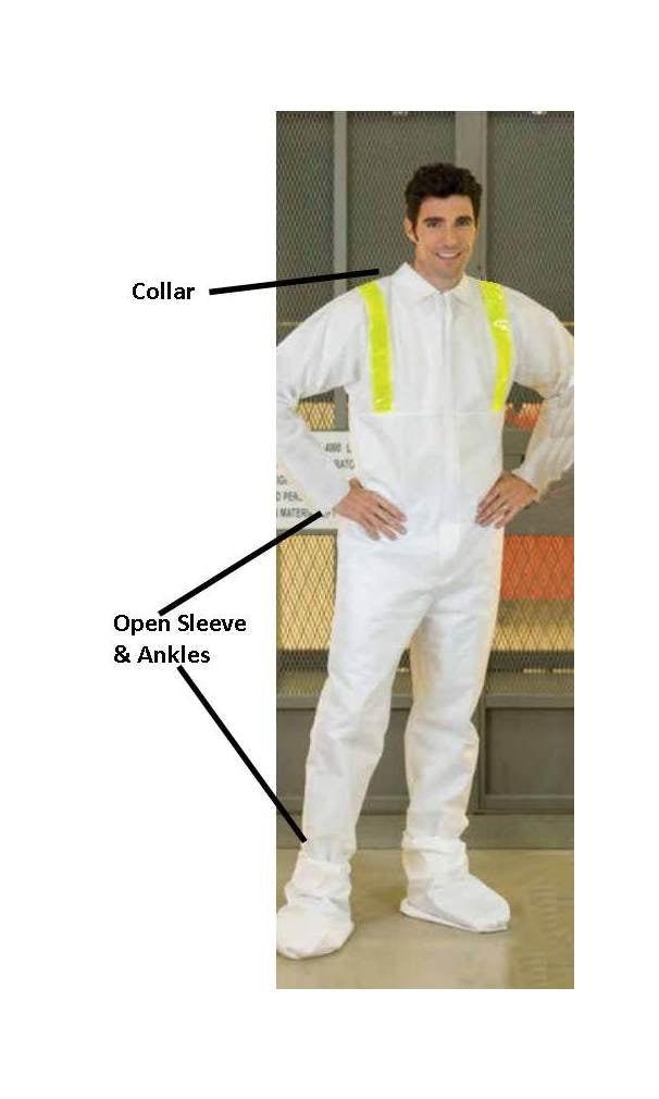Disposable Coverall with collar