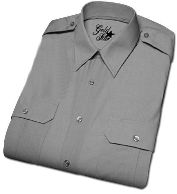 Men's Military Shirt, Short Sleeves