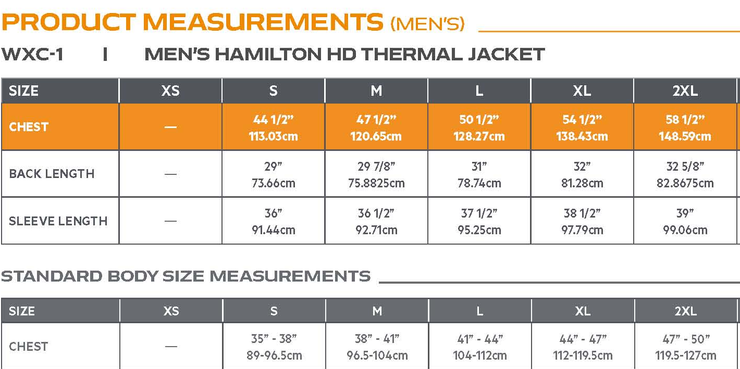 Men's Hamilton HD Thermal Jacket