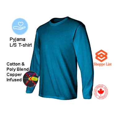 MyDream-Pyjama Long Sleeve T-shirt Infused with Copper Ions.  Limited time offer.