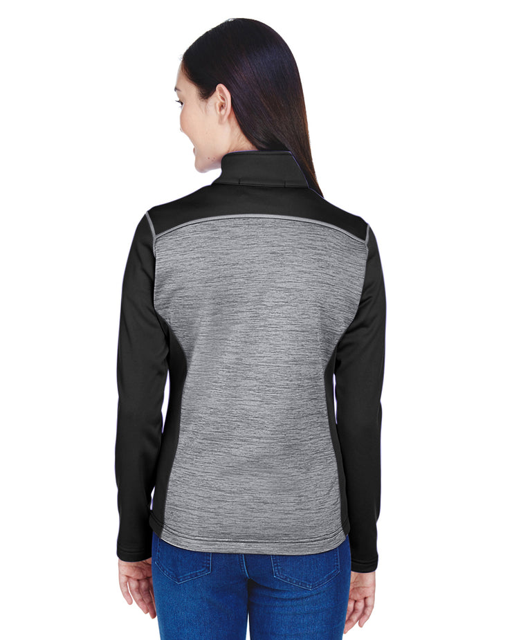 Ladies' Mélange Fleece Full-Zip Jacket