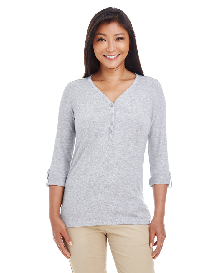 Ladies' Perfect Fit Convertible Sleeve Knit Top