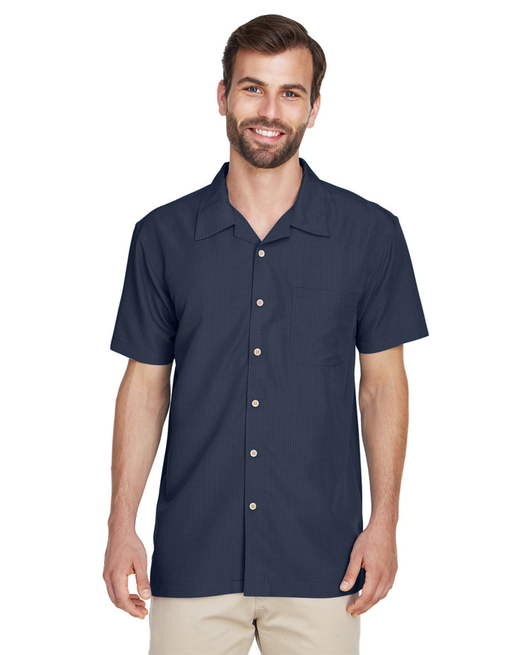 Men's Barbados Textured Camp Shirt