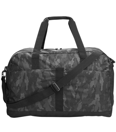Duffel Bag with Reflective Print