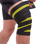 1 Pair Knee Wraps Fitness Bandages