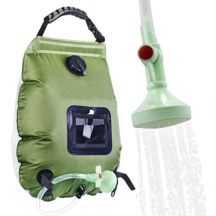 Hiking Camping Shower Bag - shoppe list