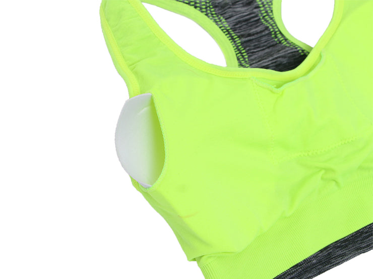 Women Workout Fitness Push Up Sports Bra