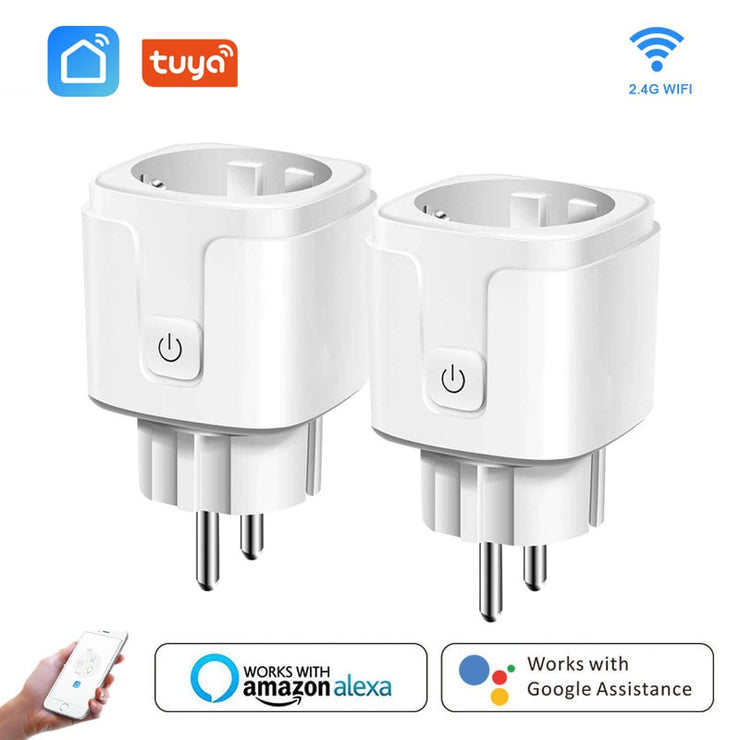 Smart Remote Control WiFi Plug Adapter