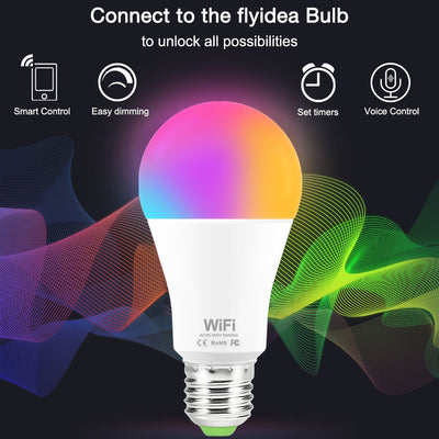 15W WiFi Smart Light Bulb