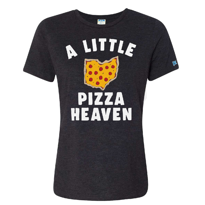 Ohio A Little Pizza Heaven | Ladies Relaxed Tee