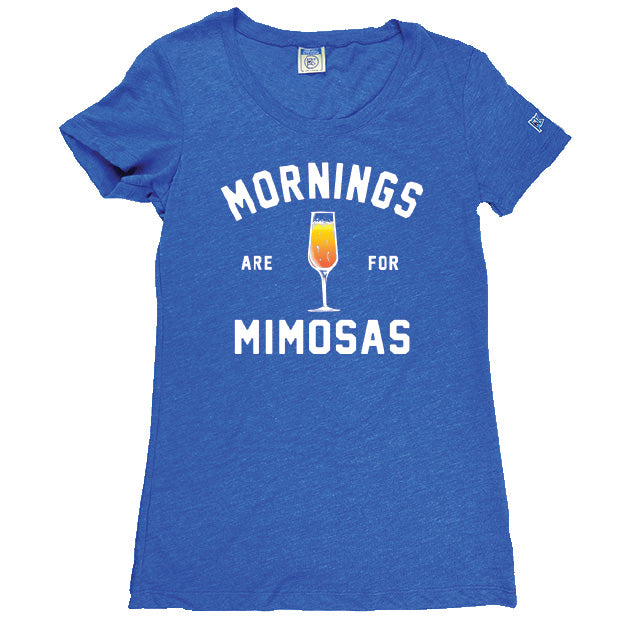 Mornings Are For Mimosas | Ladies Relaxed Tee