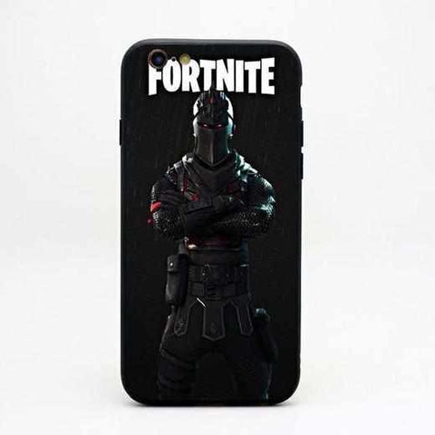 Loot Llama Fortnite - Black Knight iPhone Case