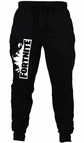 Loot Llama Fortnite - Kids Black Fortnite Tracksuit Bottoms