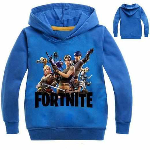 Loot Llama Fortnite - Kids Fortnite Gang Hoodie - Mixed Colours