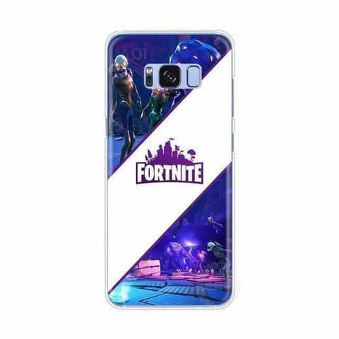 Loot Llama Fortnite - White Stripe Fortnite Samsung Case
