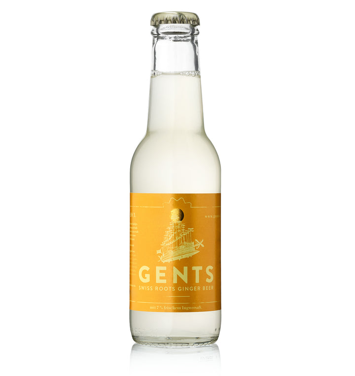 Gents Swiss Roots Ginger Beer / 24 Stk.