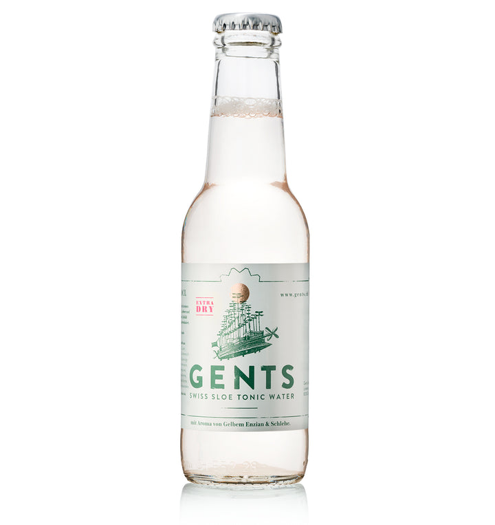 Gents Swiss Sloe Tonic Water 24 Stück