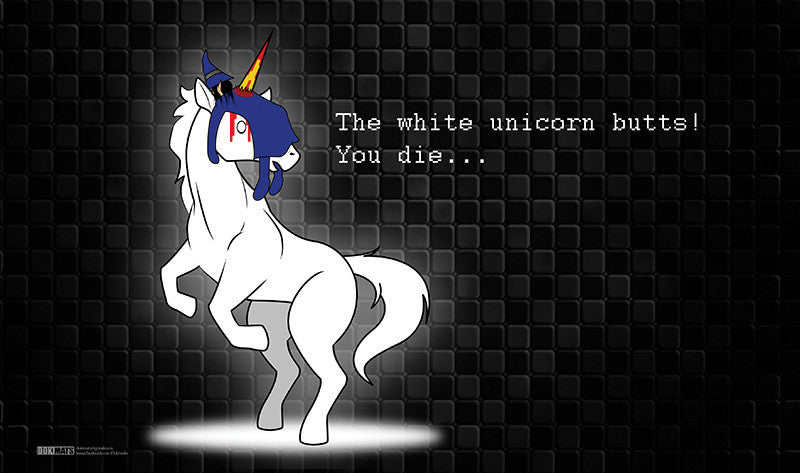 YASD - White Unicorn Butts