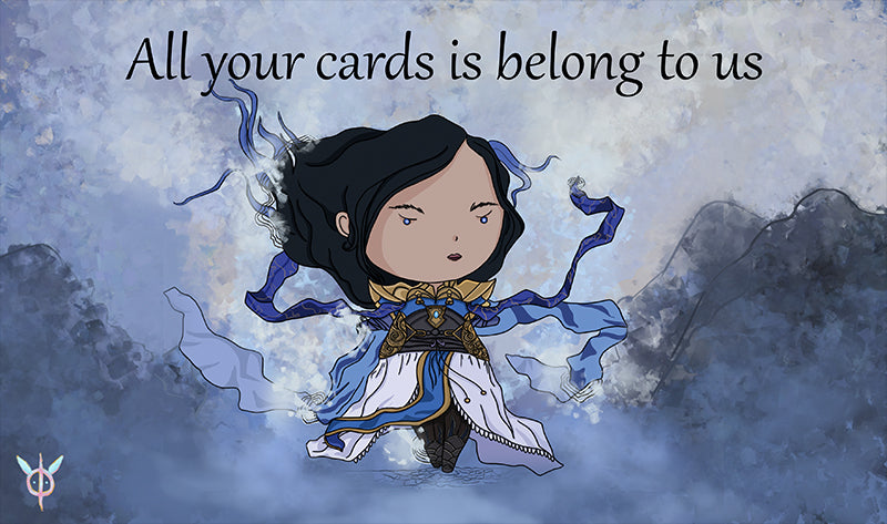All your Cards is Belong to Us