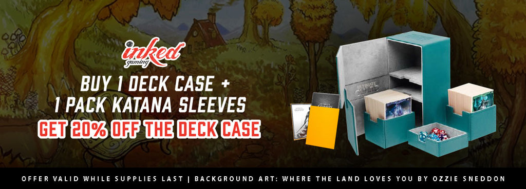 Deck Case + Katana Sleeve Flash Sale