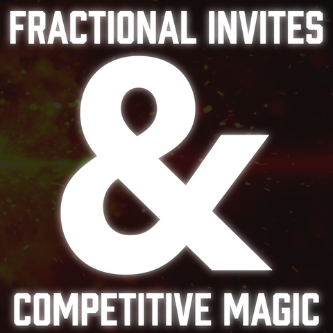 Fractional Invites and Competitive Magic