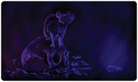 Rat on Skull Playmat