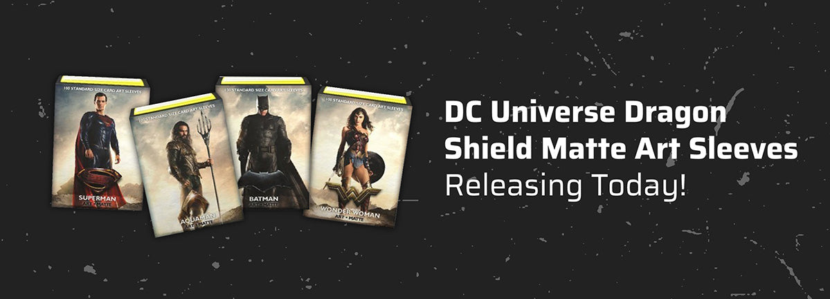 DC Universe Dragon Shield Matte Art Sleeves Releasing Today!