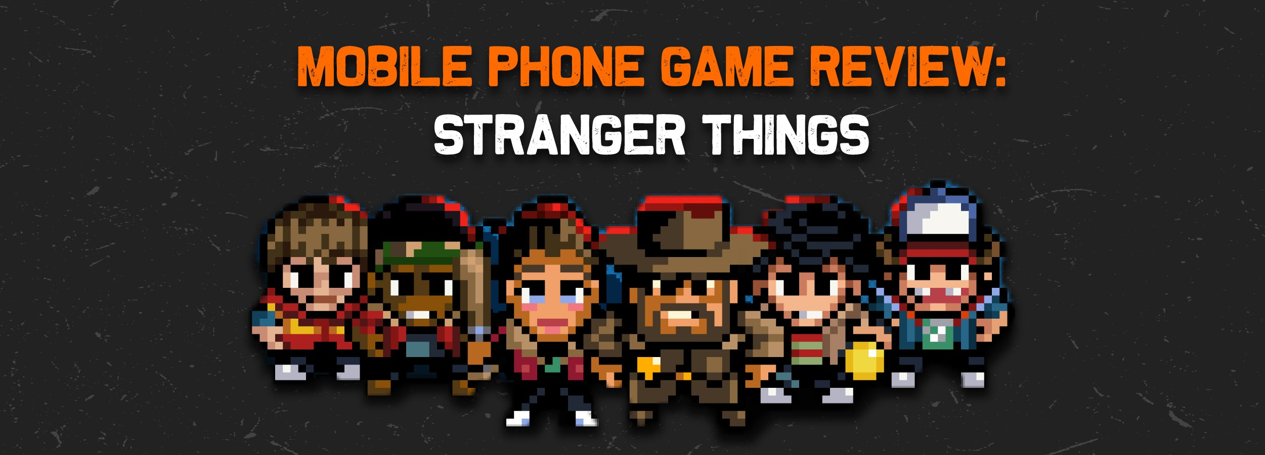 Mobile Phone Game Review: Stranger Things