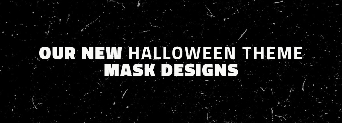 Our New Halloween Theme Mask Designs