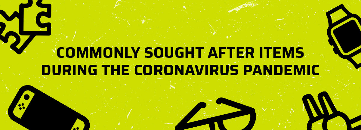 Commonly Sought After Items During The Coronavirus Pandemic