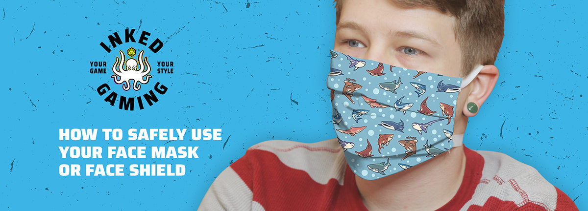 How To Safely Use Your Face Mask Or Face Shield