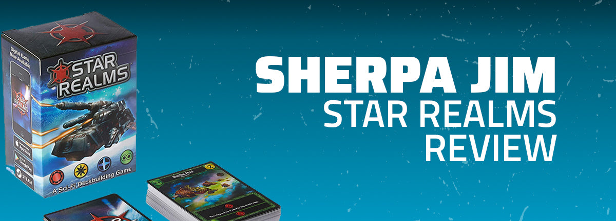 Sherpa Jim: Star Realms Review