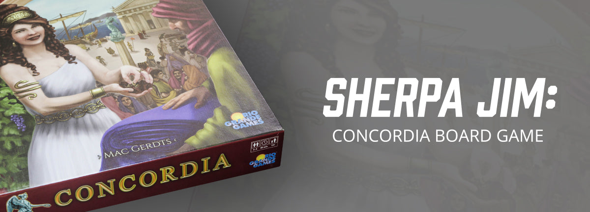 Sherpa Jim: Concordia Board Game Review