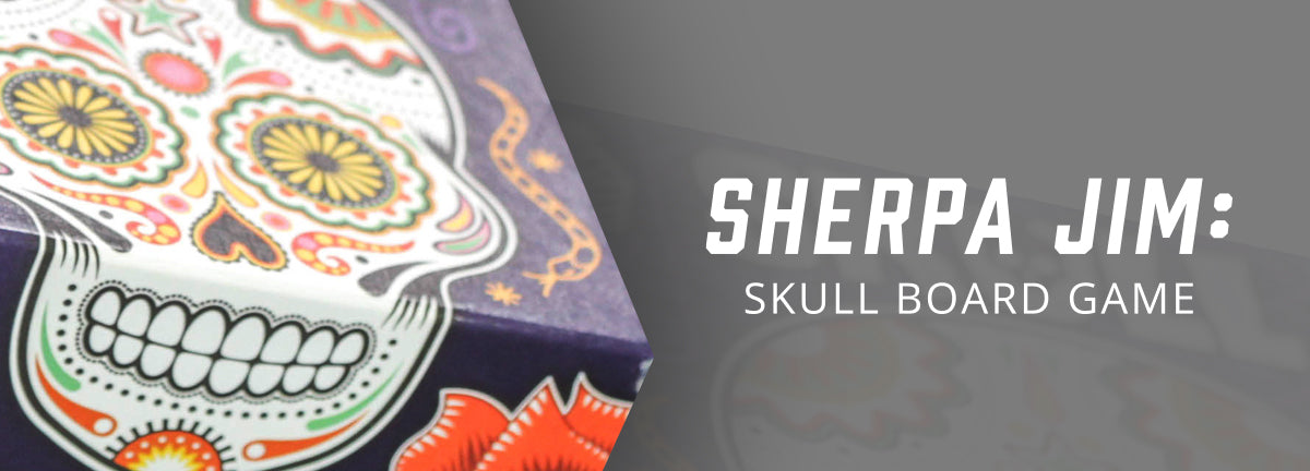 Sherpa Jim: Skull Board Game