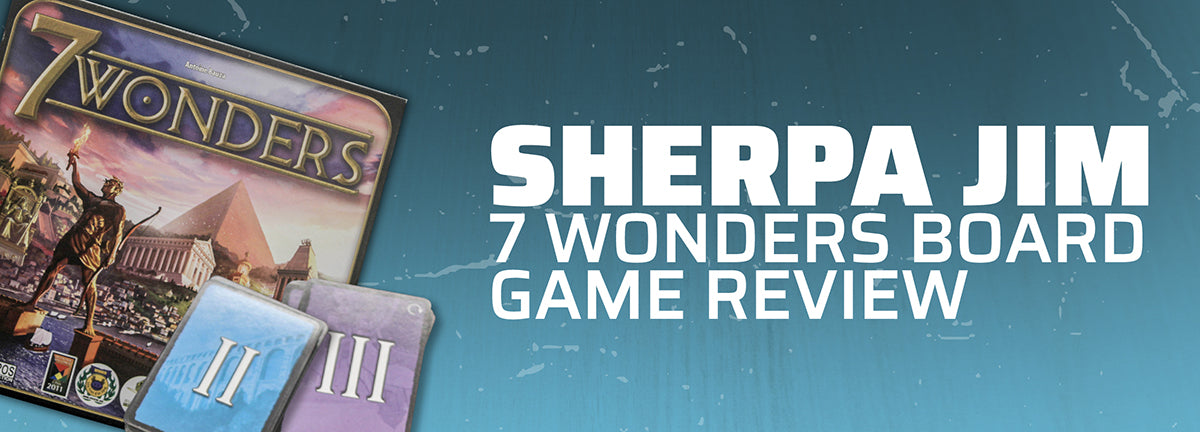 Sherpa Jim: 7 Wonders Board Game Review