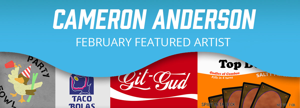 Featured Artist: Cameron Anderson