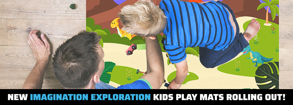 New Imagination Exploration Kids Playmats Rolling Out!