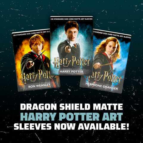 Dragon Shield Harry Potter Art Sleeves